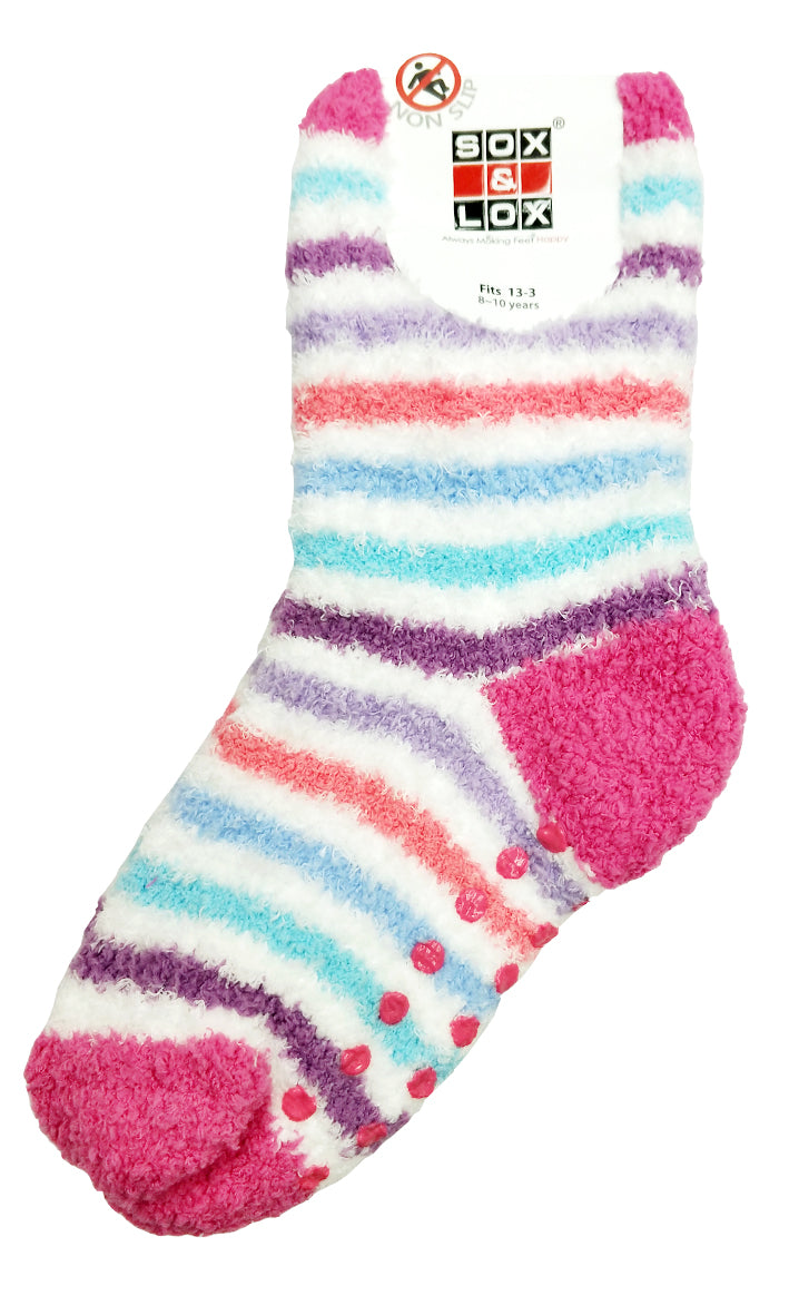 Kid's Bed Socks [Non Slip] - Large