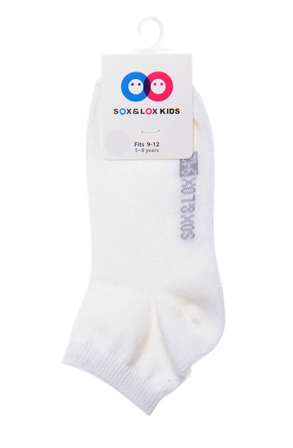 Kid's Casual Thin Anklet (Fits 9-12) SOX&LOX 100% comfortable best socks