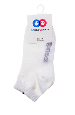 Kid's Casual Thin Anklet (Fits 5-8) SOX&LOX 100% comfortable best socks