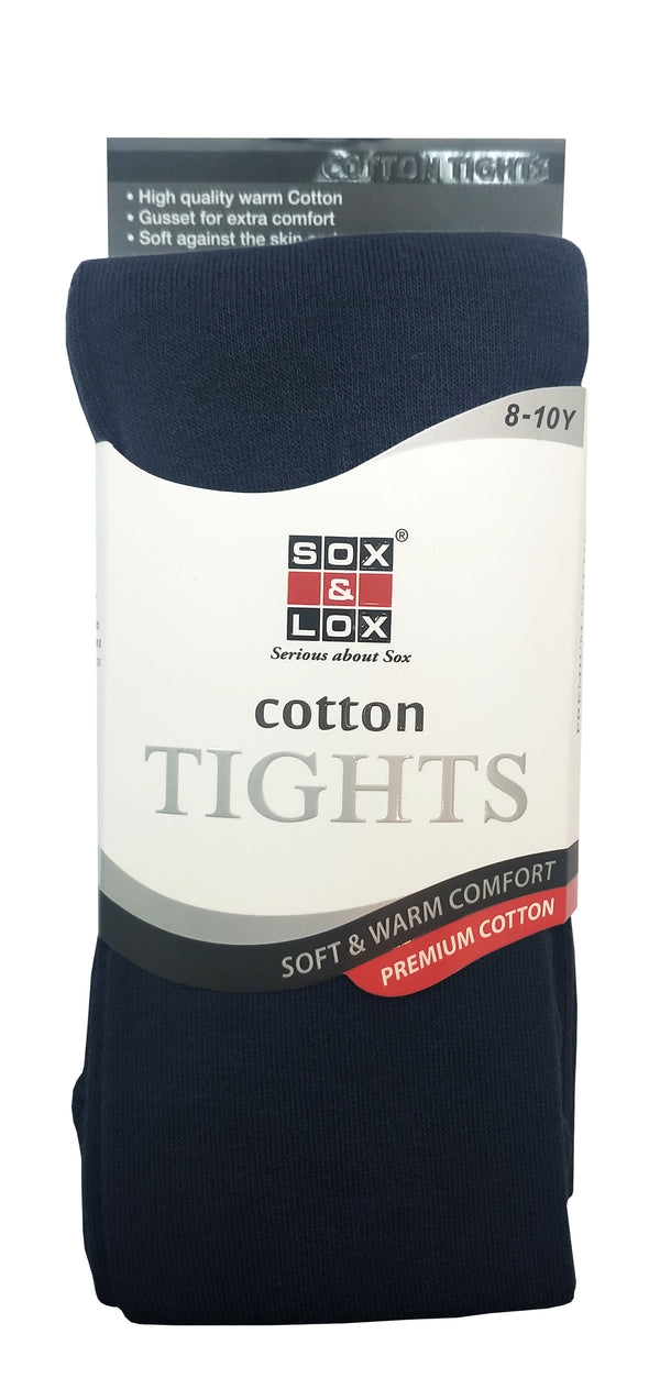 Children's Cotton Tights (8-10Y)