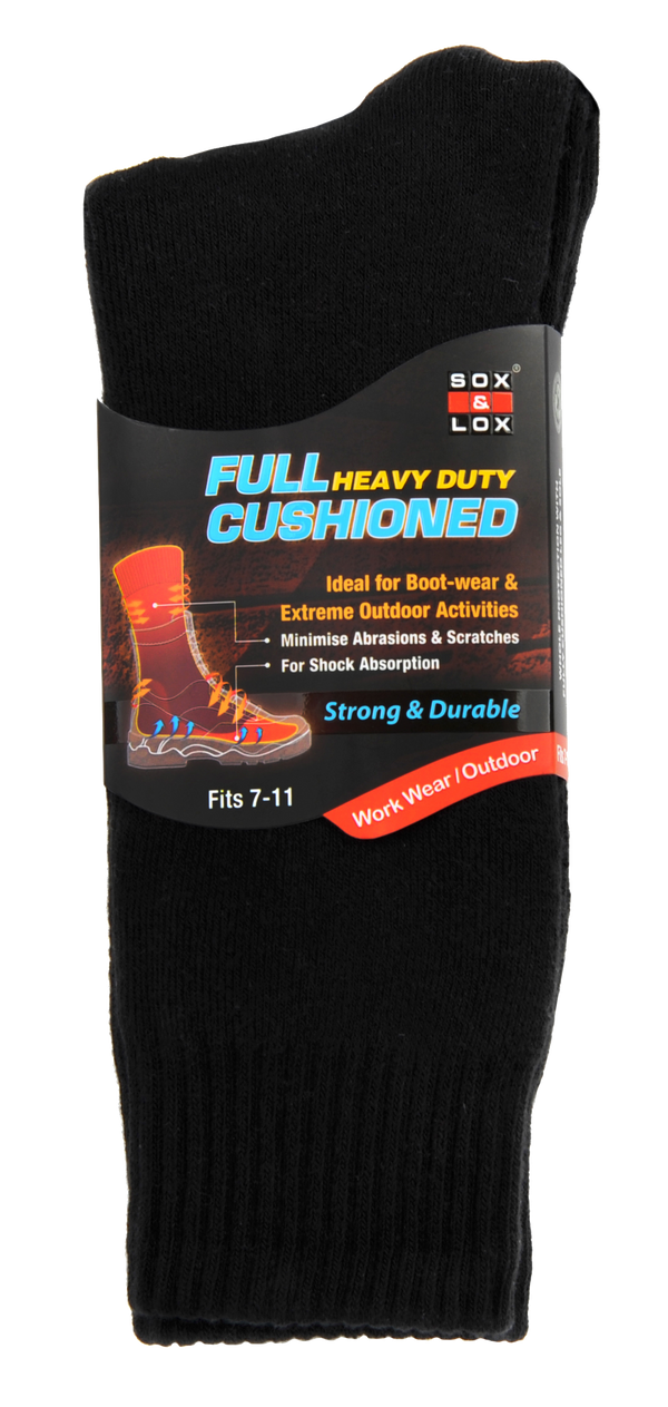 best full cushioned heavy duty socks ideal for boot-wear & Extreme Outdoor Activities
