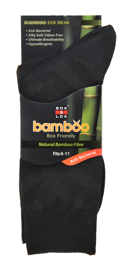 Men's Business [Bamboo] SOX&LOX 100% comfortable best socks