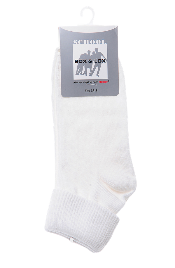 Children's School Long (Fits 13-3) SOX&LOX 100% comfortable best socks