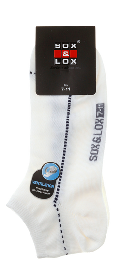 Men's Casual Thin Low Cut [Ventilation Panel] SOX&LOX 100% comfortable best socks