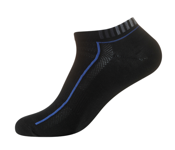 Men's Extra Fine Casual Low Cut [Arch Support and Ventilation Panel] SOX&LOX 100% comfortable best socks