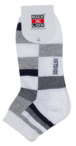 Ladies' Casual Thin Anklet SOX&LOX 100% comfortable best socks