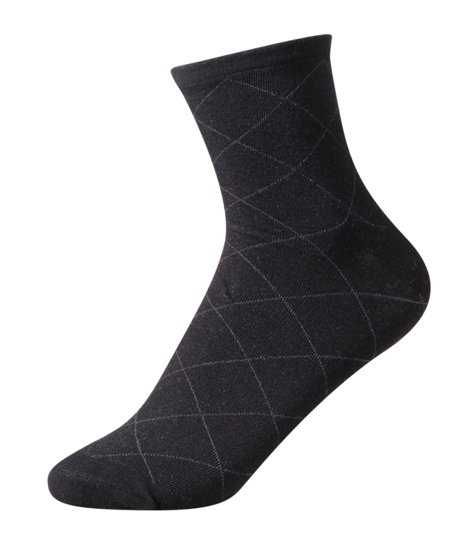 Ladies' Everyday Diabetic Friendly [Bamboo] SOX&LOX 100% comfortable best socks