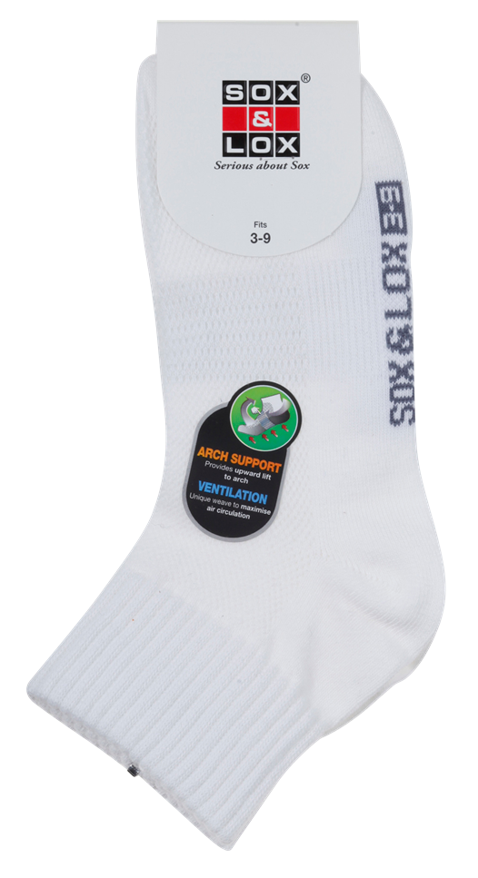 Ladies' Casual Thin Midi [Arch Support and Ventilation] SOX&LOX 100% comfortable best socks