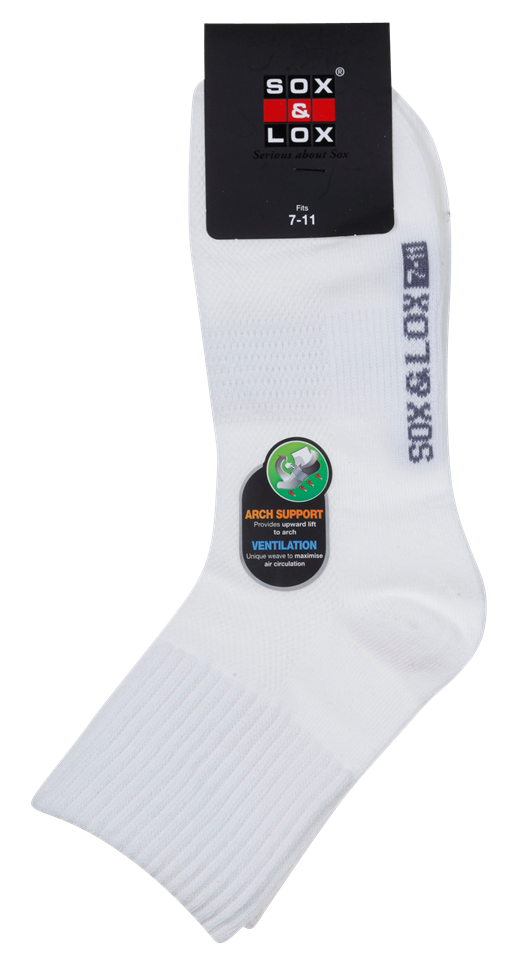 Men's Casual Thin Midi [Arch Support and Ventilation] SOX&LOX 100% comfortable best socks