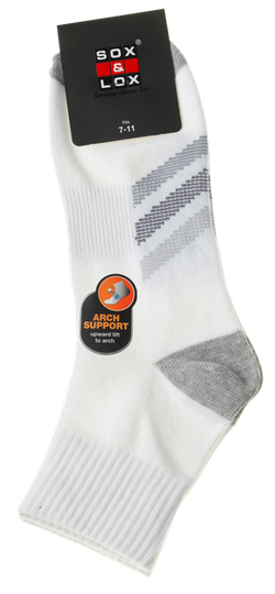 Men's Casual Thin Midi [Arch Support] SOX&LOX 100% comfortable best socks
