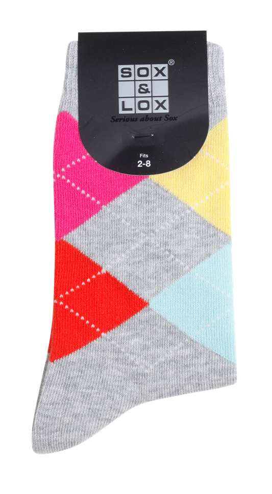 Ladies' Casual Long SOX&LOX 100% comfortable best socks