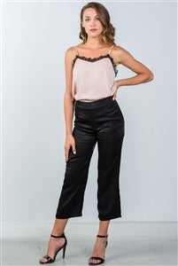 RELAXED CROPPED PANTS