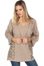 Load image into Gallery viewer, BOHO CROCHET TUNIC HOODIE