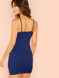 Form Fitting Cami Dress