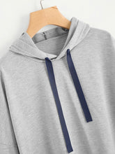 Load image into Gallery viewer, VARSITY STRIPED HOODIE