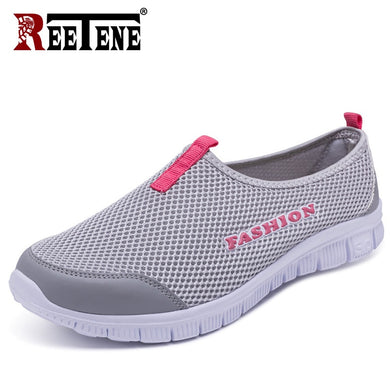 2020 Comfortable Shoes Women'S Sneakers Mesh Casual Shoes For Women Summer Breathable Shoes Woman Outdoor Sport Lovers' Shoes