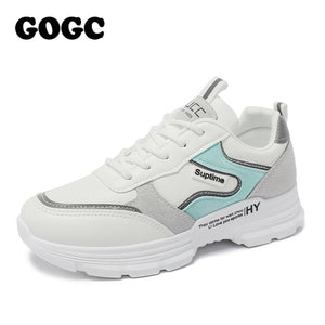 GOGC 2020 Women Shoes Spring Women's Shoes Platform Ladies Sneakers chunky sneakers Shoes casual women shoe Women Snekaers G6802