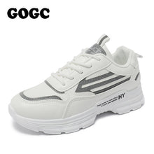 Load image into Gallery viewer, GOGC 2020 Women Shoes Spring Women's Shoes Platform Ladies Sneakers chunky sneakers Shoes casual women shoe Women Snekaers G6802