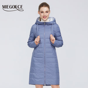 MIEGOFCE 2020 New Design Spring Jacket Women's Coat Windproof Warm Female Parka European and American Female Model Women's Coat
