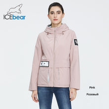 Load image into Gallery viewer, ICEbear 2020 New Women Coat Spring Casual Women Jacket Women Jacket Hooded Quality Women Clothing GWC20728I