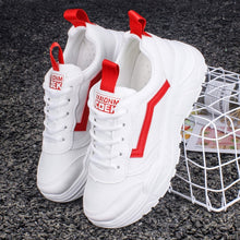 Load image into Gallery viewer, Casual Shoes Women Chunky Sneakers Fashion Dad Shoes For Women Spring Autumn White Black Shoes Chunky Sneaker Vulcanize Shoes