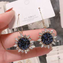 Load image into Gallery viewer, 2020 New Long Crystal Tassel Gold Color Dangle Earrings for Women Wedding Drop Earing Fashion Jewelry Gifts