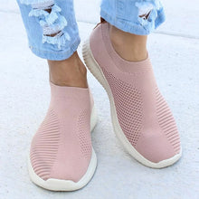 Load image into Gallery viewer, Women Flat Slip on White Shoes Woman Lightweight White Sneakers Summer Autumn Casual Chaussures Femme Basket Flats Shoes