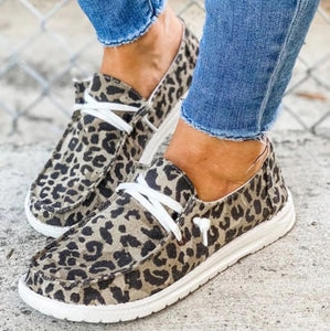 Women Flats Casual Shoes Woman Lace Up  Shoe Fabric Students Girl Flat Casual Chaussures Femme Zapatos Mujer Sapato Espadrilles