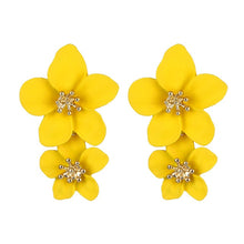 Load image into Gallery viewer, VKME Fashion Oversized flower Drop Earrings Women brincos Irregular earrings Girls gift Birthday party Accessories