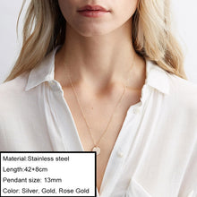 Load image into Gallery viewer, JUJIE Multitype 316L Stainless Steel Necklaces For Women 2020 Simple Luxury Chokers Pendants Necklace  Jewelry Dropshipping