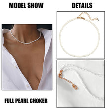 Load image into Gallery viewer, IF ME Fashion Multilayer Star Map Chain Necklaces for Women Moon Heart Pearl Crystal Necklace Pendant Choker Jewelry 2020 New