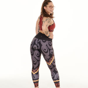 Siefay On Iron Red Splash Leggings