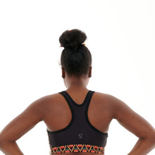 Load image into Gallery viewer, Kayentee on Green Sports Bra