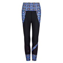 Load image into Gallery viewer, Siefay On Blue Butiful Leggings