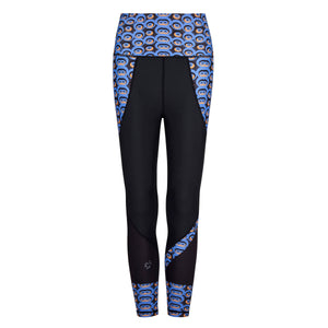 Siefay On Blue Butiful Leggings