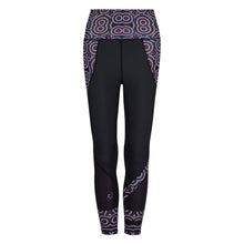 Load image into Gallery viewer, Signature On Black Butiful Leggings