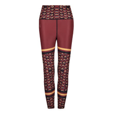 Load image into Gallery viewer, Siefay  On Iron Red Funky Leggings