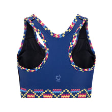 Load image into Gallery viewer, Kayentee Cerulean Sports Bra