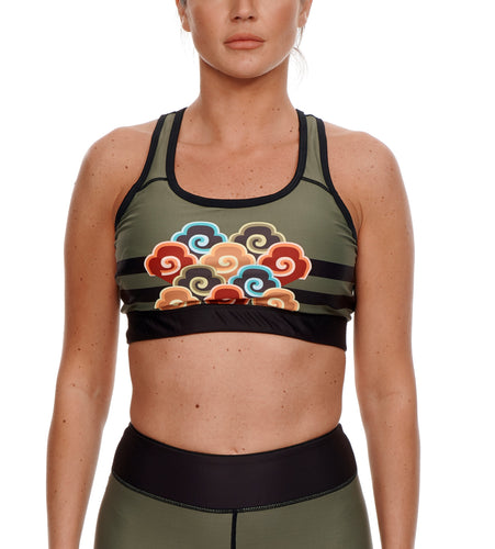 HEADING EAST WORKOUT BRA