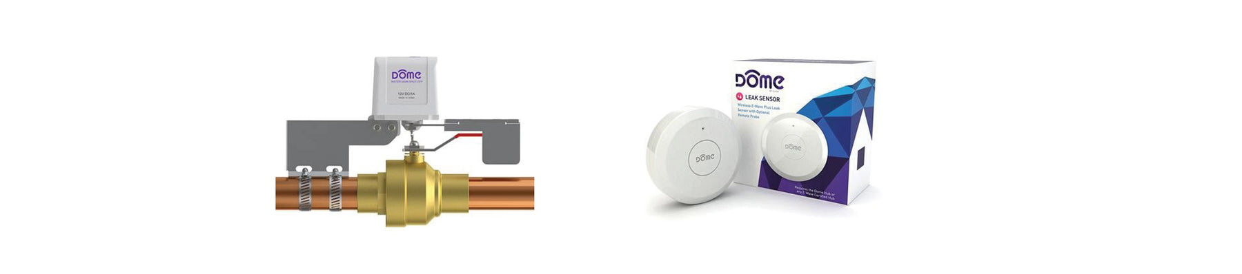Alert Yourself to Floods and Water Damage with Z-Wave and Dome