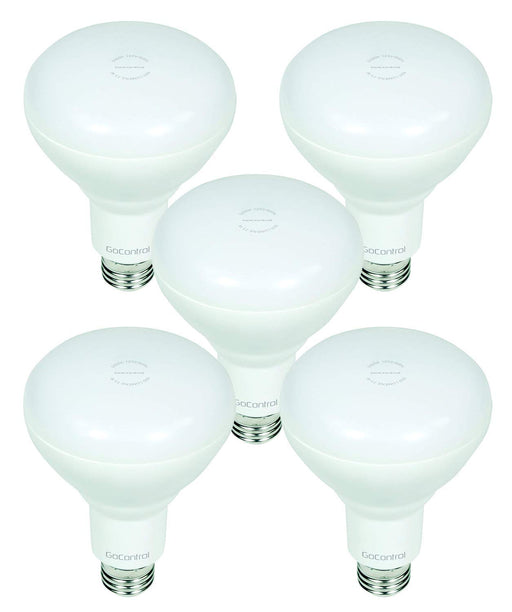 GoControl Z-Wave Dimmable LED Indoor Flood Light Bulb - 5-PACK - LBR30Z-5