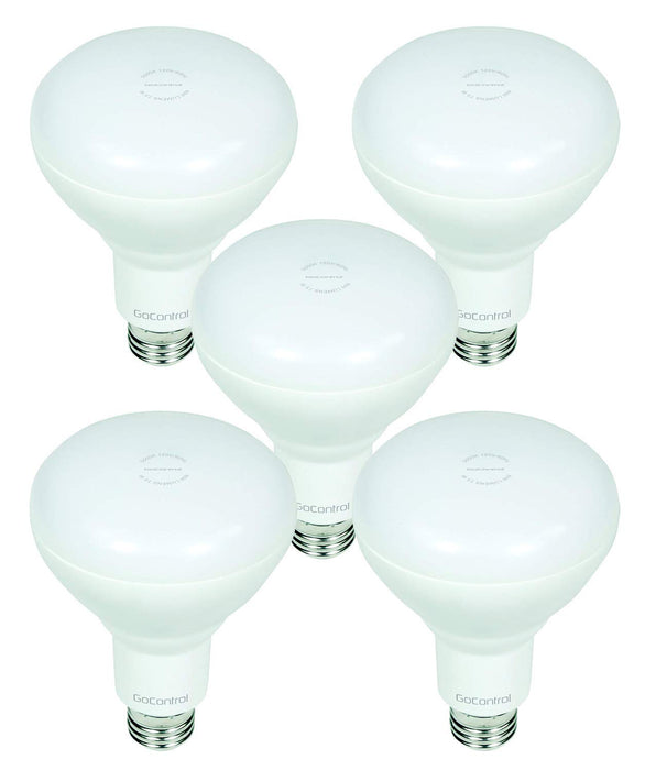 GoControl Z-Wave Plus Dimmable LED Indoor Flood Light Bulb - 5-PACK - LBR30Z-5