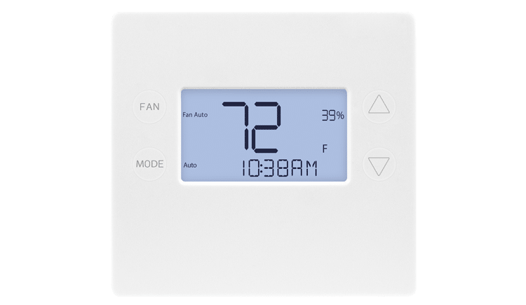 2GIG/GoControl Z-Wave Plus 700 series Smart Programmable Thermostat with S2 and SmartStart - 2GIG-STZ-1