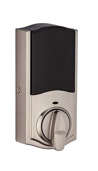 Kwikset 888 ZW500-15S SmartCode 888 Electronic Deadbolt with Z-Wave Plus Technology, Satin Nickel - 98880-004