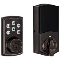 Kwikset 888 ZW500 11PS SmartCode 888 Electronic Deadbolt with Z-Wave Plus Technology, Venetian Bronze - 98880-005