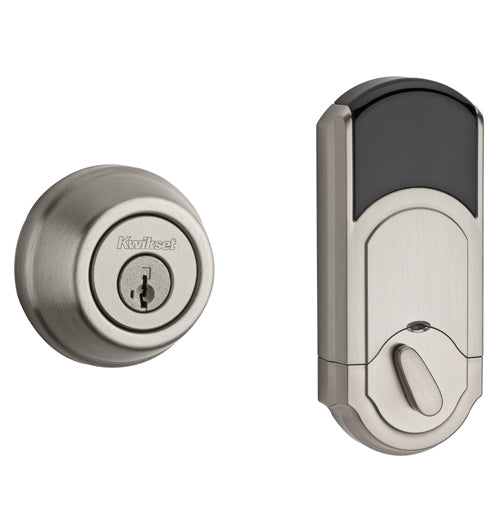 Kwikset Signature Series Traditional Deadbolt -  Satin Nickel - 99100-062