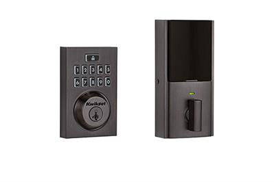 Kwikset Z-Wave Plus Smartcode Contemporary Deadbolt - Venetian Bronze -  99140-020