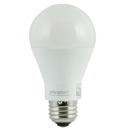 Enbrighten Z-Wave Plus Smart LED Bulb, Dimmable, 60-Watt Equivalent - 35931