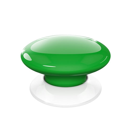 Fibaro The Button, Z-Wave Scene Controller, Green - FIBFGPB-101-5