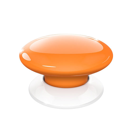 Fibaro The Button, Z-Wave Scene Controller, Orange - FIBFGPB-101-8